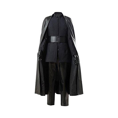 Fuman The Last Jedi Kylo Ren Outfit Ver.2 Cosplay Kostüm L