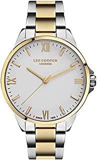 Lee Cooper Women'S Analog White Dial Watch Lc07044.230