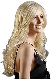 Fashion Women's Long Wigs Golden Curly Dance Carnival Wig WIG-099