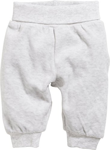 Schnizler Baby Pumphose aus hochwertiger Baumwolle, softe Kinder-Hose mit Umschlagbund, schadstoffgeprüft, meliert