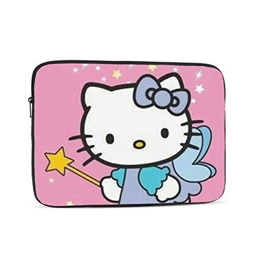 Laptop Sleeve Case- Multi Size Hello Kitty Angel Notebook Computer Protective Bag Tablet Briefcase Carrying Bag,15 Inch
