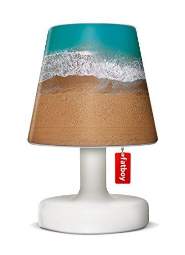 Fatboy® Edison the Petit + Cooper Cappie lonely beach | Tischlampe / Outdoor Lampe / Nachttischlampe | Kabellos & per USB Aufladbar