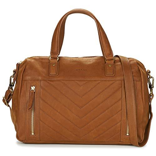 nat et nin Panama Handtaschen Damen Braun - Einheitsgrösse - Handtasche