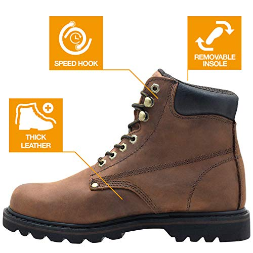 EVER BOOTSEB611TAN - Haut homme , jaune (Darkbrown), 44 EU