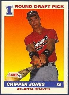 Chipper Jones 1991 Score MLB Rookie Card (1st Round Draft Pick)