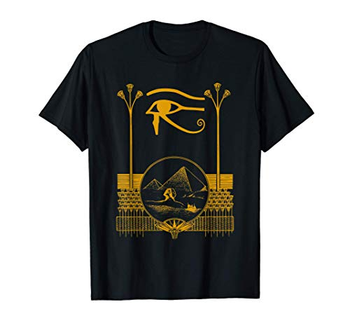 Ancient Egyptian Eye Of Horus | Egypt Art Pyramid Camiseta