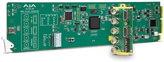 Aja OG-HA5-4K openGear 4K/UltraHD/2K/HD/SD HDMI 2.0 to 3G-SDI Converter with Dashboard Support