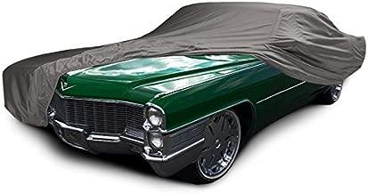 CarsCover Custom Fit 1963-1977 Cadillac DeVille Car Cover Ironshield Leatherette All Weatherproof De Ville Waterproof 100% Block Sun, Rain, Dust