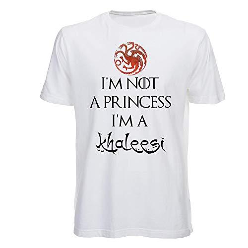 T Shirt I'm Not a Princess, Daenerys, Game of Thrones, Juego de Tronos, House of Targaryen, Series TV