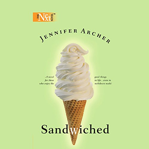 Sandwiched audiobook cover art