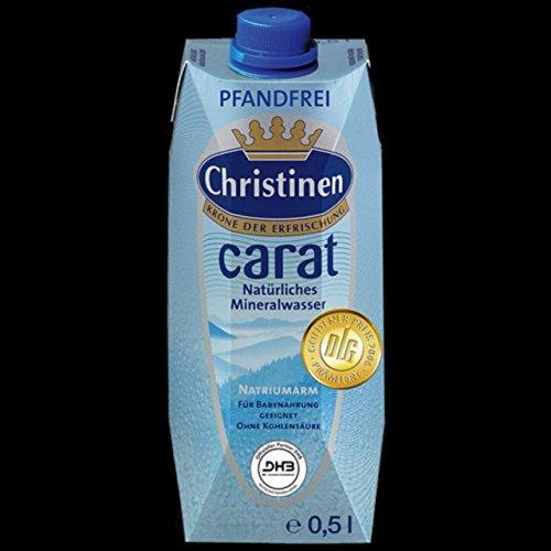Christinen Carat Mineralwasser 0,5l 24 Flaschen