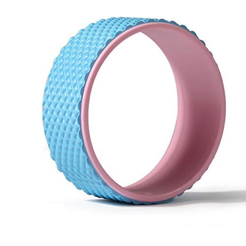 YULAN Yoga Ronda Espalda Abierta Principiante Círculo de Yoga Genuino detrás la Curva de artefactos de Cintura Fina de Masaje de la Pierna Pilates Equipo Anillo (Color : Pink)