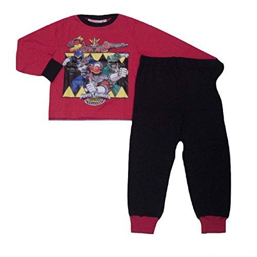 Power Rangers Pijama para niños de 3 a 9 años