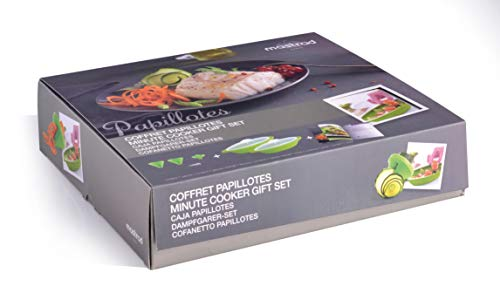 mastrad Coffret Cuisson Papillotes – Composition Lot...
