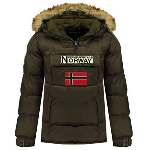 Geographical Norway - Boker, giacca da uomo Kaki M