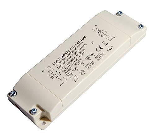 conecto X-HT010 Halogentransformator 12V/35-105Watt, 220-240V, 50Hz