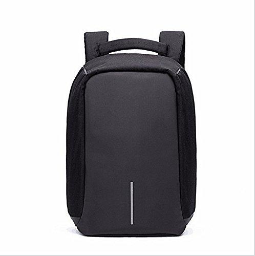 TEYUN Travel Computer Bag Slim Business Backpack With USB Charging (Color : Black)