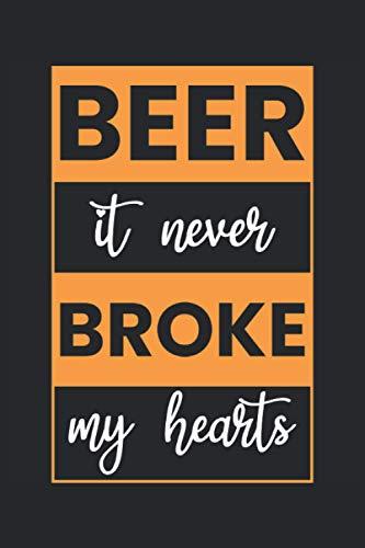 Cuaderno: cerveza, bebedores de cerveza, jardín de cerveza, lúpulo,: 120 páginas rayadas: cuaderno, cuaderno de bocetos, diario, lista de tareas ... para planificar, organizar y tomar notas.