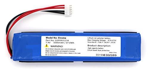 GSP0931134 Battery Replacement for JBL Xtreme JBL GSP0931134 (5000mAh Li-Polymer)