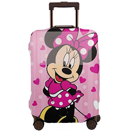 Travel Luggage Cover Minnie Mouse Suitcase Protector Washable Baggage Covers 18-32 Inch