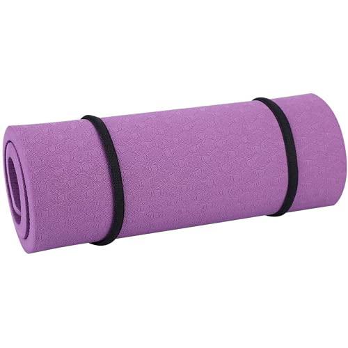 Hokorini 380 210 8mm / 15 8.3 Pad del Codo de Yoga de 0.3 Pulgadas Amigable para el Medio Ambiente, la Almohadilla de Codo de Yoga de Fitness no tóxico