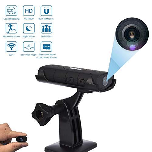 Draadloze Nanny camera HD 1080P voor Domestic kinderkamer met bewegingsdetectie, nachtzichtfunctie, binnenopname, ingebouwde magneten