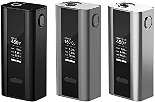 Brushed Galaxy Black Protective Air Release Vinyl Decal Wrap for Joyetech Cuboid 150W Vape Box Mod by Necro Wraps