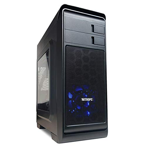 NITROPC - PC Gamer Nitro AMZ 2020 *Rebajas de junio* (CPU Ryzen 4 x 3,70 Ghz, T. Gráfica 2 GB, Hdd 1 Tb, Ram 16 GB) + WIFI de regalo. pc gamer, pc gaming, ordenador para juegos (actualizado junio 2020)
