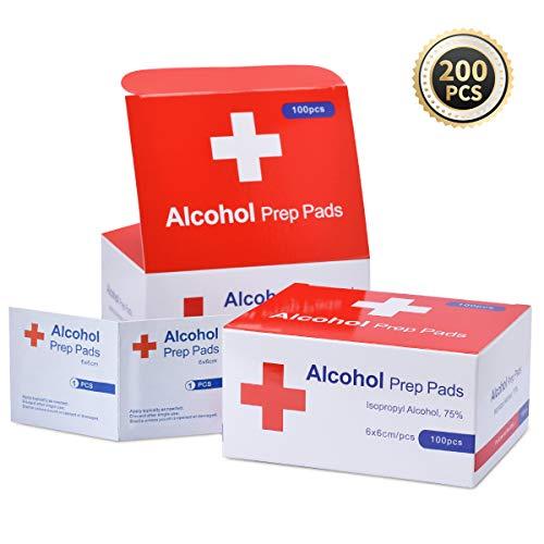 100 St/ück Azunx Alkohol-Tupfer