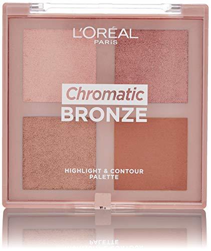 L'Oréal Paris Chromatic Bronze Highlight & Contour Palette 01, 10 g