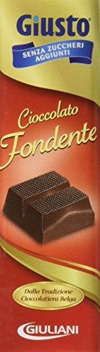 Tavoletta di Cioccolato Fondente senza Zucchero 44 G