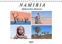 Namibia, afrikanisches Abenteuer (Wandkalender 2022 DIN A4 quer): Namibia, das Land der roten Sandduenen, wilder Tiere und karger Berge. (Monatskalender, 14 Seiten )