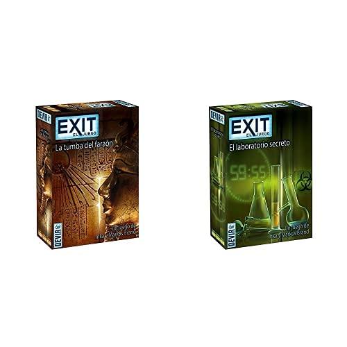 Devir - Exit: La Tumba del Faraón, Ed; español (Bgexit2)+ - Exit: El Laboratorio Secreto, Ed; español (Bgexit3)