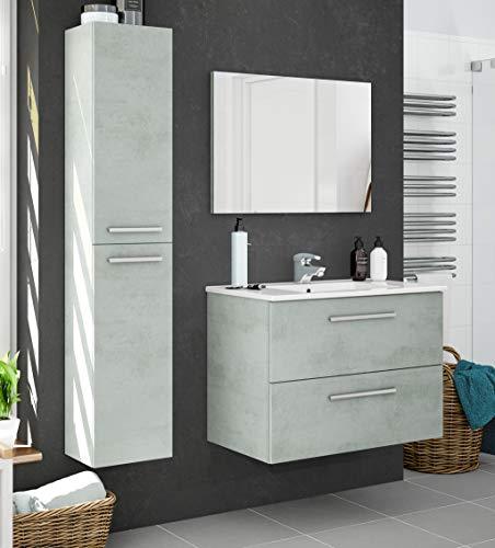 Miroytengo Pack Muebles baño Plutón diseño Moderno (Muebl
