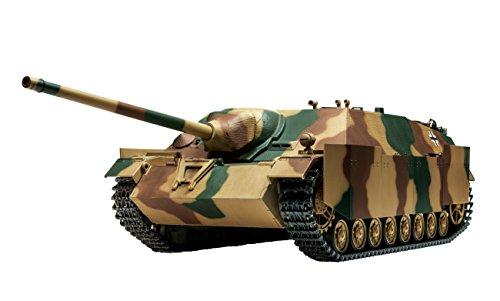 Tamiya 1/16 elektrische RC tank serie No.38 Duitsland Jagdpanzer IV / 70 (V) Lang trekbedieningsdeel set (met 2.4GHz 4-kanaals R batterijlader) 56038