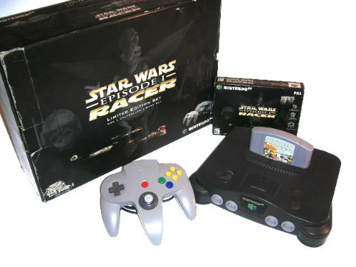 Nintendo 64 - Gerät + Star Wars: Racer
