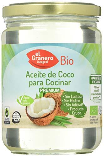 Granero Aceite De Coco Para Cocinar Bio 500 Ml Bote De 500...