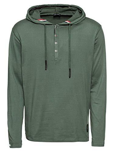 KEY LARGO Herren Shirt Toni Langarm grün (43) L