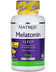 Natrol Melatonin Maximum Strength Citrus Flavor 10 mg - 100 Tablets