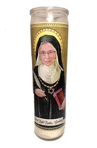 Ruth Bader Ginsburg RBG Devotional Prayer Saint Candle