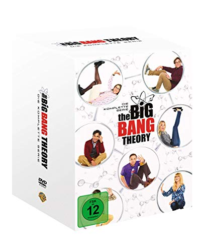 Cover The Big Bang Theory S1-12 Boxset DVD (exklusiv bei Amazon.de)