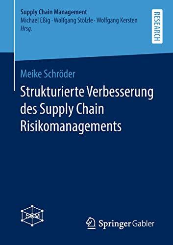 Strukturierte Verbesserung des Supply Chain Risikomanagements (Supply Chain Management)