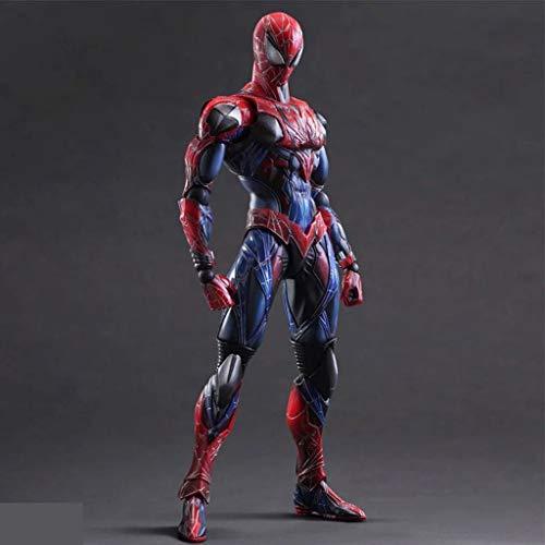 zxwd Avengers Spiderman Personajes de Dibujos Animados estatuas Modelo de Anime artesanía cumpleaños Juguetes 26 cm