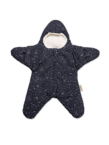 Baby Bites Original – Navy Blue Star slaapzak, Bedrukte sterrenbeelden – Winter Model