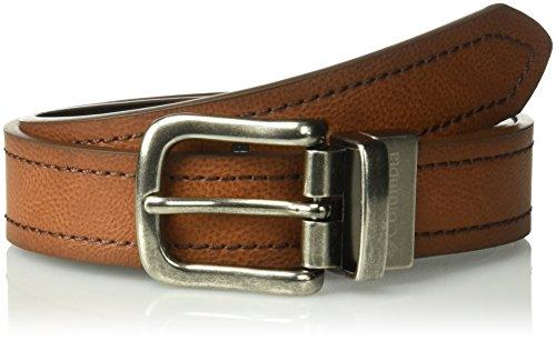 Columbia Boys 1 Wide Classic Reversible Belt, tan/black Small
