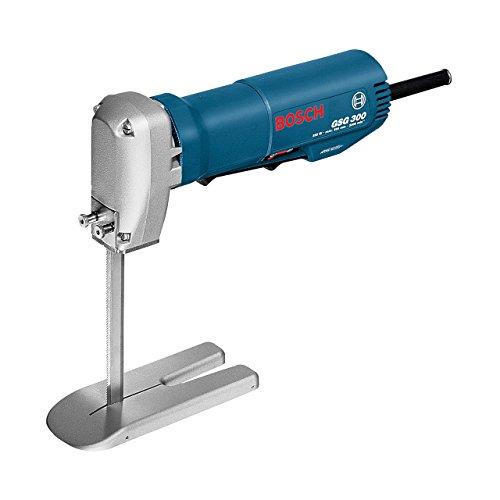 Bosch Professional Schaumstoffsäge GSG 300 (Schnitttiefe in Schaumstoff: 300 mm, 350 Watt, inkl. Fußplatte, Schaber, im Karton)