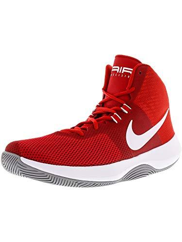 NIKE Air Precision - Zapatillas Deportivas, Hombre, Rojo - (University Red/White-Wolf Grey)