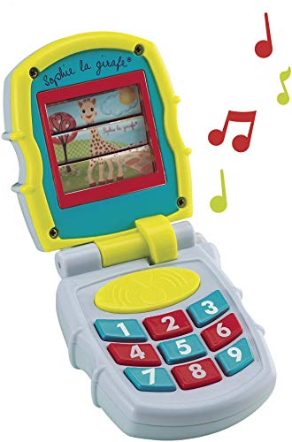 Sophie la Girafe 230777 - Teléfono musical (Vulli 230777) - Teléfono musical Sophie la jirafa, Su primer juguete educativo , color/modelo surtido