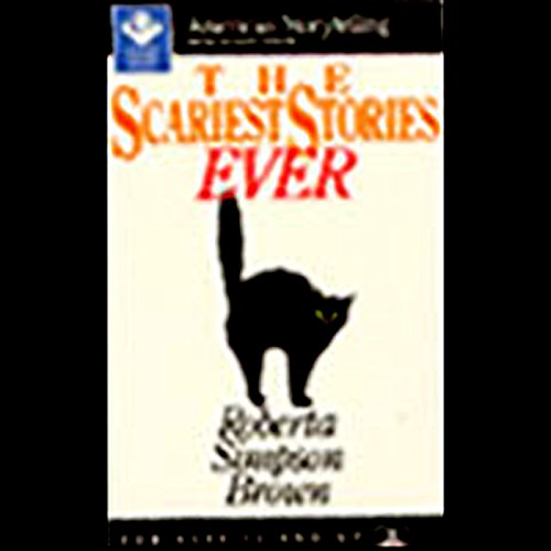 The Scariest Stories Ever audiobook cover art
