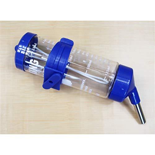 TUANTUAN 1 botella colgante de agua para mascotas pequeñas, dispensador de agua para hámster, sin goteo, botella de agua para animales pequeños, para mascotas pequeñas/hámster/conejo. StyleM